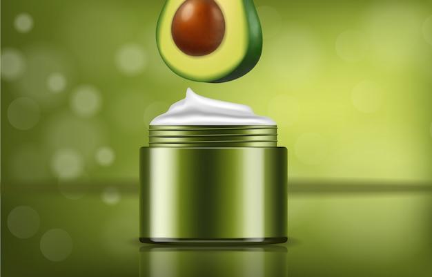 Авокадо кремовый продукт