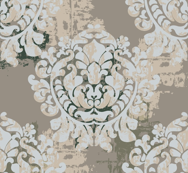 Старинные классические украшения фона. барочный дизайн