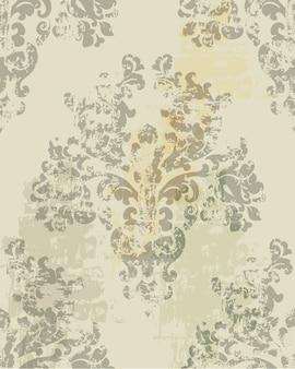 Старинные украшения. роскошный фоновой текстуры. цветочные украшения