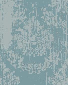 Элегантный узор в стиле барокко. роскошный имперский декор