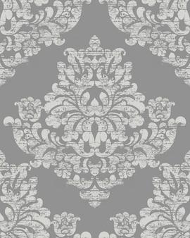 Классический роскошный орнамент на фоне гранж. королевская викторианская текстура