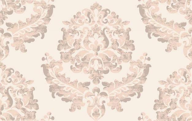 Роскошные текстуры фона. цветочное оформление. классический винтажный декор