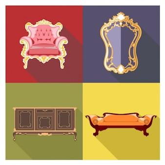 レトロな家具