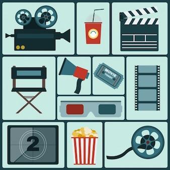 Коллекция иконок кино