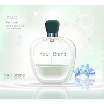 香水の背景デザイン