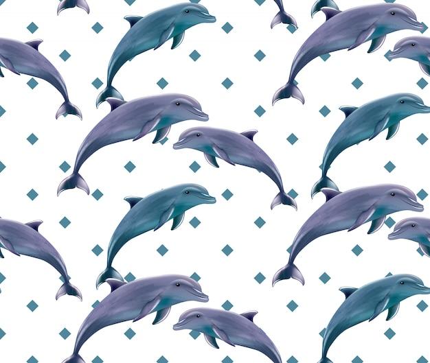 イルカパターン