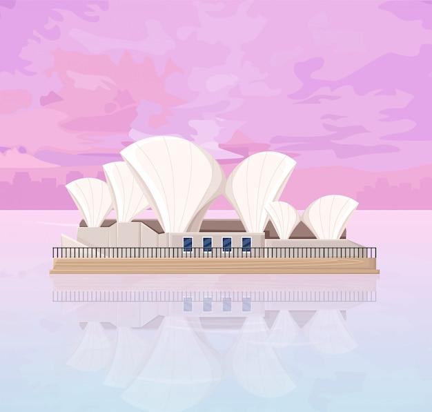 オーストラリアのメルボルンオペラハウス