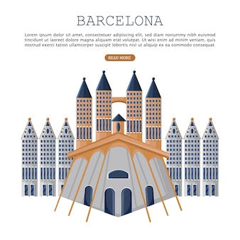 Карта архитектуры барселоны