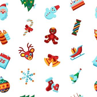 Коллекция рождественских и зимних праздников