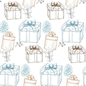 ビンテージメリークリスマスカード