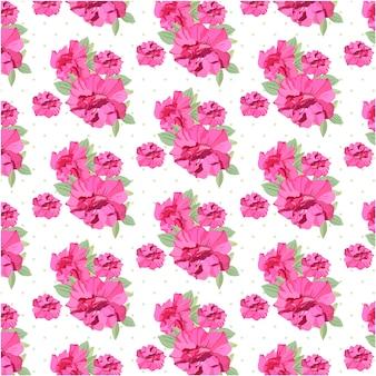 ピンクの花の後ろの背景