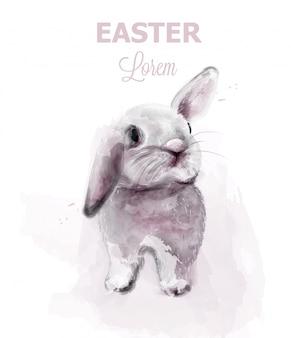 イースターのウサギのウサギ