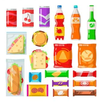 Набор продуктов торгового автомата