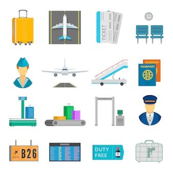 Набор услуг аэропорта