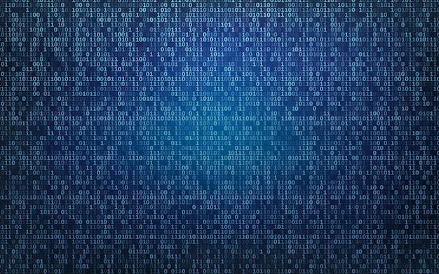 抽象的なテクノロジーバイナリコードの背景