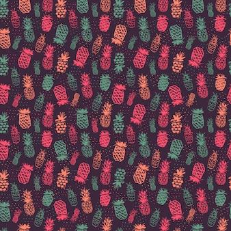 パイナップルパターン設計
