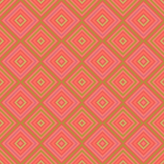 Розовый фон с квадратами