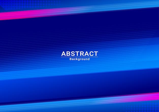 設計のための抽象的な青い空のベクトルの背景