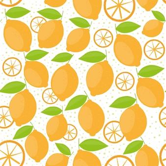 オレンジのパターンのバックグラウンド