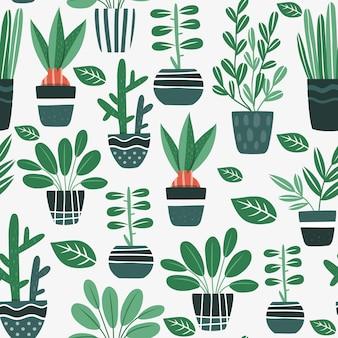 植木鉢のパターン設計