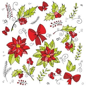 伝統的なクリスマス装飾