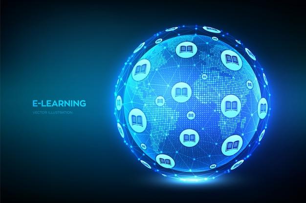 Фон электронного обучения
