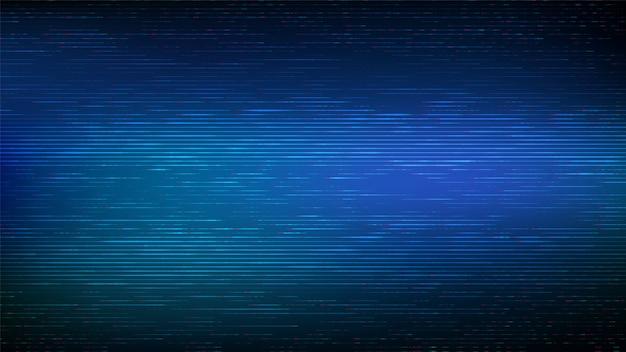 グリッチの背景。デジタルグリッチ。抽象的なノイズ効果。ビデオの損傷。