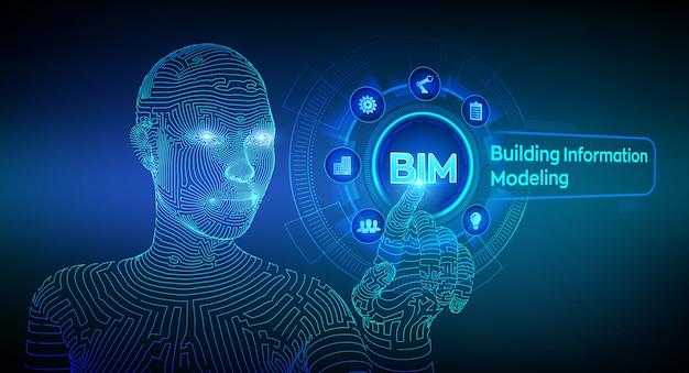 Фон информационные технологии моделирования зданий