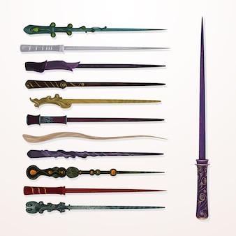 Коллекция волшебных палочек