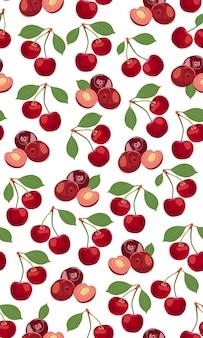 Бесшовные вишни