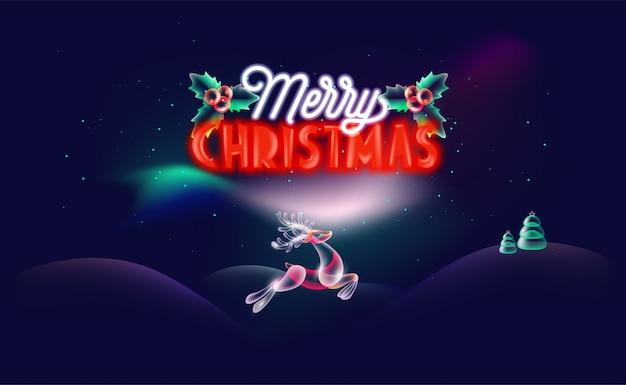 クリエイティブクリスマスの背景