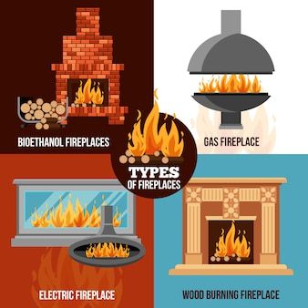 暖炉デザインコンセプト