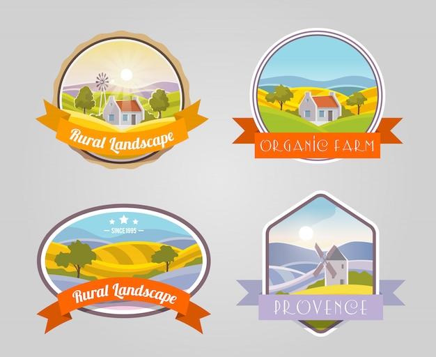 農村景観セット