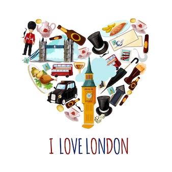 ロンドン観光ポスター