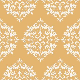 ダマスク織のシームレスパターン