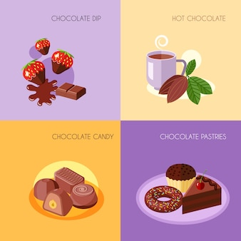 Вкусный десерт конструкции