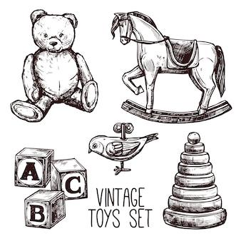 ビンテージ玩具セット