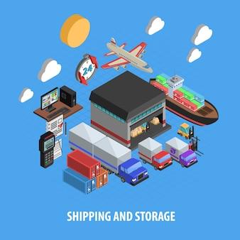 出荷および保管等尺性概念