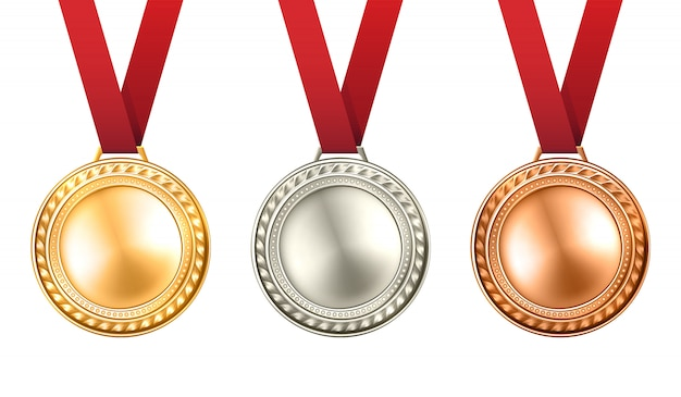 Иллюстрация медалей