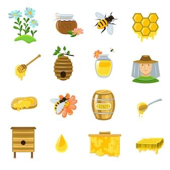 Набор иконок мёда