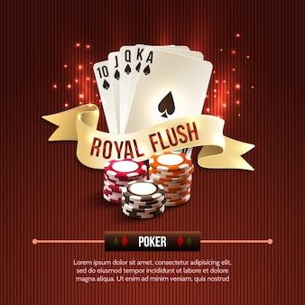 Покер фон казино