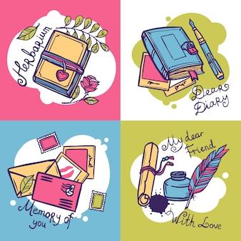 Концепция дизайна дневника