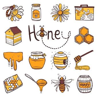 蜂蜜のアイコンを設定
