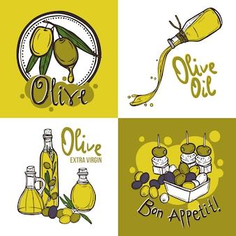 Олив дизайн концепция