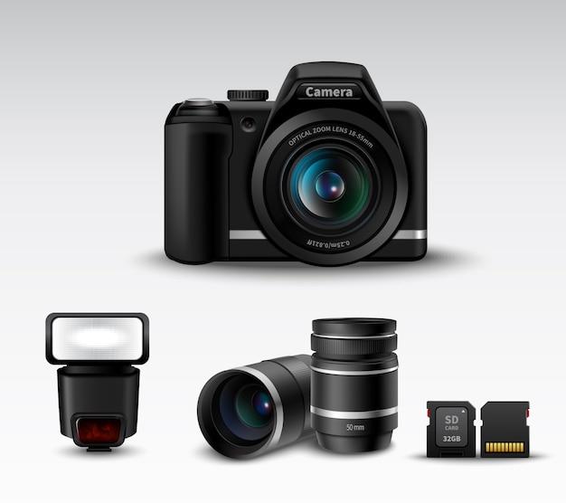 Камера и аксессуар