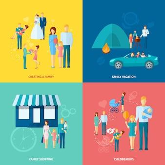 家族の概念セット