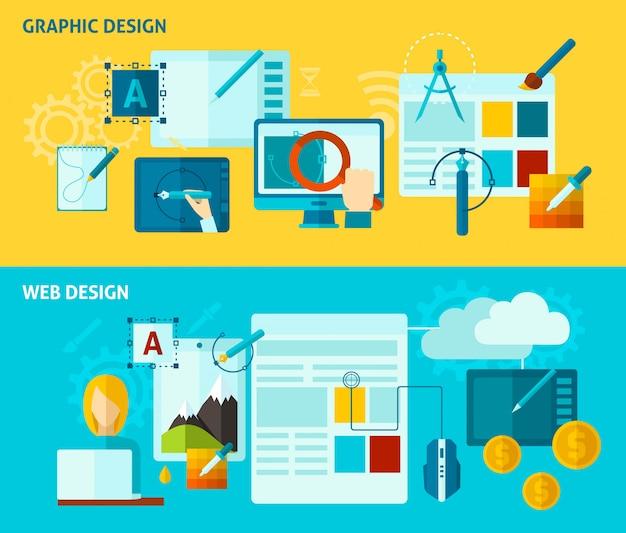 グラフィックデザインバナー