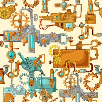 Промышленные машины бесшовные
