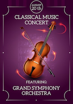 クラシック音楽ポスター