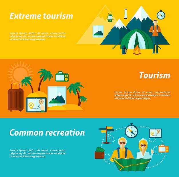 Туристический баннер